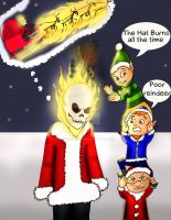 Ghost Rider of Christmas by Rene-L