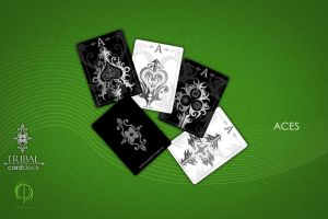 Tribal Card Deck: The Aces by MPtribe