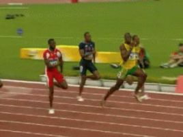 Usain Bolt Beijing 100m GIF by Lord-Iluvatar