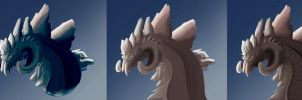 Step by Step Frost Creature by SunStateGalleries
