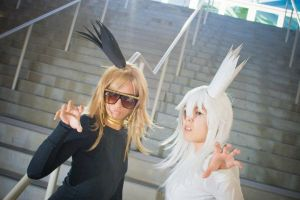 Marik and Bakura Gaga by SequinSuperNOVA