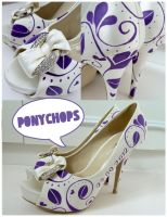 Rugby Wedding Shoes by ponychops