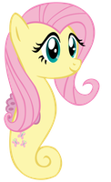 Fluttershy the Sea Pony by wolfsman2