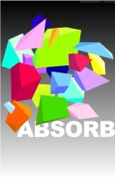 ABSORB - Techno Poster 4 by wastingtape