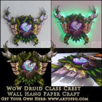 WoW Class Crest: Druid by StrayaObscura