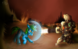 MLP: Commission: shieldgenerator7 by Mychelle