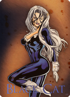 """Black Cat  """"Felicia Hardy"""" by FedoGrim"""