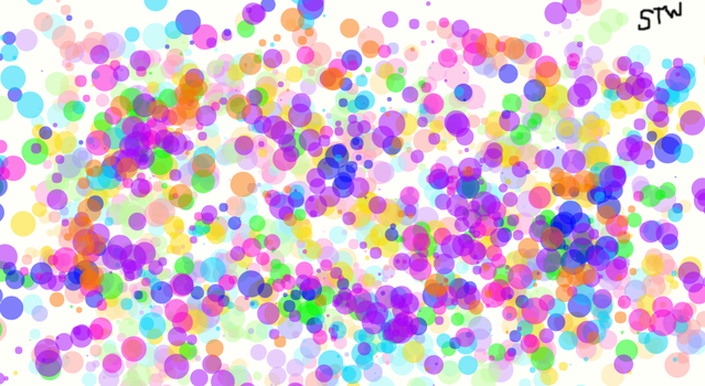 Dots! Dots Everywhere! by SenpaiTansyWolf
