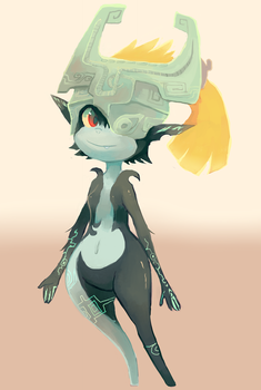 Midna by sweating