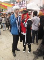 [Spring Day] Akise Aru whit Grell by Book-No00