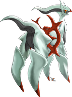 Arceus Fighting Type by Xous54