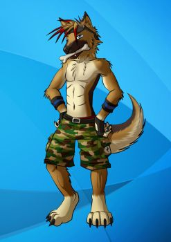 Species Change 3 - German Shepherd by LightningTheFox7