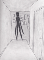 The Thing at the End of the Hallway by Darkmoonwriter
