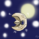 Ditto Me This: Shiny Lunatone by Captain-Murica