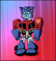 Baby Optimus by Olivia-27