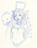 Zatanna Fansketch by Crows