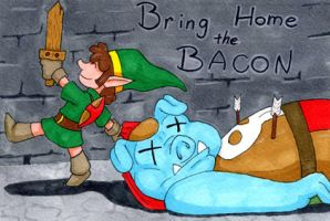 Bring Home the Bacon by LastRyghtz