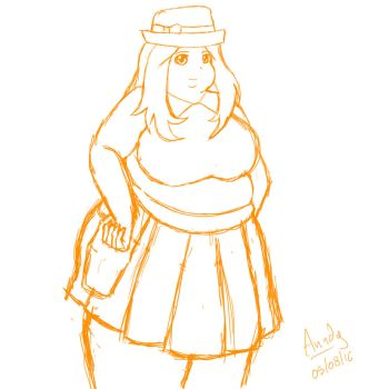 Fat Serena by Anndygirl