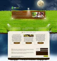 Floating Island Template by MsT4GFX