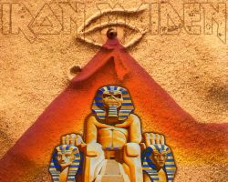 Iron Maiden Powerslave by croatian-crusader