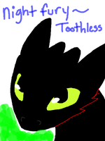 Toothless by UniGalvacron
