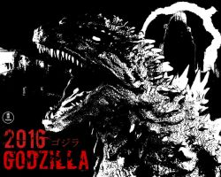 Godzilla 2016 ( custom wallpaper) by The-KaijuEnthusiast