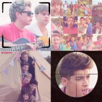 Live While We're Young Collage. by kryptiworld