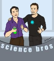 Science Bros by cyen