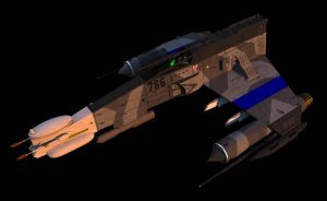 E-Wing, Electronic Warfare Version by ChrisNs