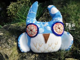 Patterned Snish Owl by T-EE