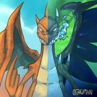 Because Charizard by 0takuman