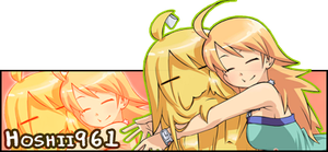 Miki and Miki Kuri Sig Request by roninator001