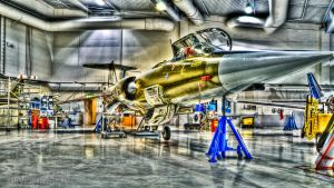 HDR CF-104 '800' Starfighter by SindreAHN