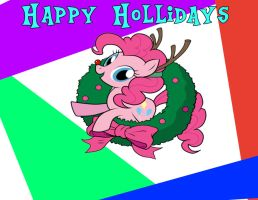 Christmas card front by HeyBrony