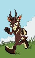 Clash the Kudu by SurlyQueen