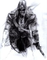 Assassin's Creed 3 Connor- Work in progress#6 by GabrielArtist