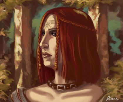 Dragon Age Illesandra by Denae