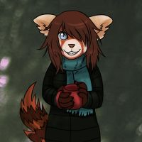 Red Panda by Aritimas