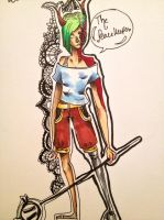 Art trade/request traditional sample by paulch