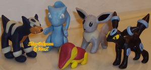 Ceramic Shiny Pokemon 2 by HeyLookASign