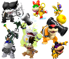 Koopalings as my OCs by That-One-Leo