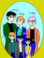 Potter Family Portrait SPOILER by Tprinces