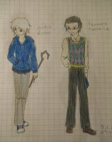 RotG AU Genderbend: Jack and Tooth by Tsukiko75014