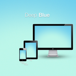 Deep Blue Wallpaper Pack by xatDefect