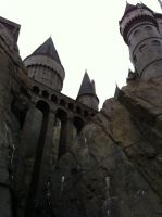The walls of Hogwarts by G-L-I-M-M-E-R