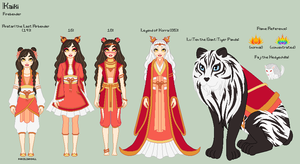 A:tLA/LoK - Kaiki Reference Sheet by porcelian-doll
