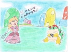 Peach's kidnapping! by Bubblygoat