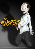 The Suspect by OuthouseCartoons