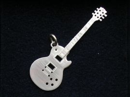 silver les paul by merovech-navarre