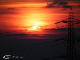 Power lines. by Hairytabs